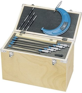 Externe micrometer set 6 delig. 150-300mm LARGE