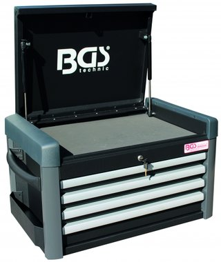 Caja de herramientas para carro de taller PROFI 4 cajones vacio
