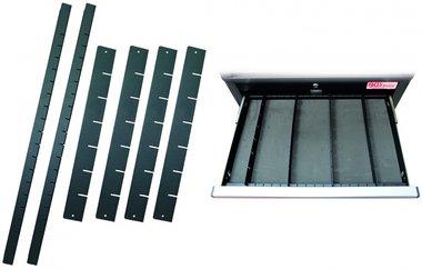 Bandeja de plastico para carro de herramientas PROFI 6 piezas
