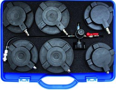 Sistema de prueba de turbocompresor para camiones