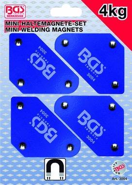 Juego de Soporte Mini-Magnetico de 4 piezas, 45° -90° -135°