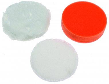 Juego de almohadillas de 3 piezas, 100 mm para BGS 9259