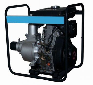 Bomba con motor diesel para aguas residuales