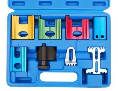 Juego 8 piezas de herramientas de bloqueo de reglaje
