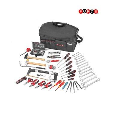 Bolsa portaherramientas con 95 herramientas de las PC