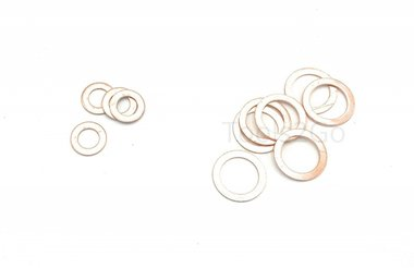 juntas de cobre Surtido 150 PC