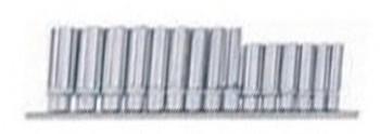 Juego 15 3/8 mangas largas perfil convexo