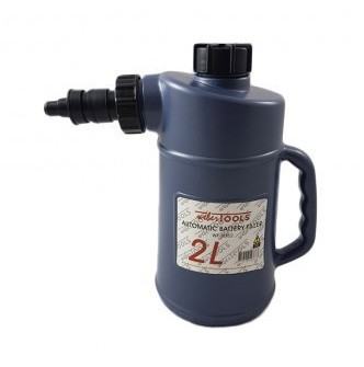 Botella de llenado para las baterias