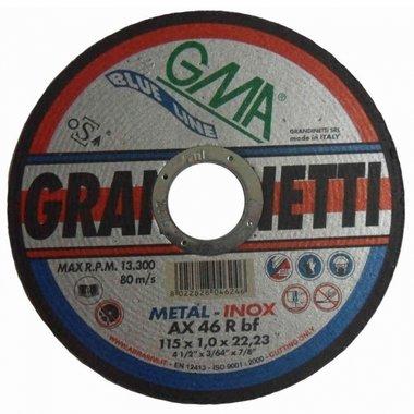 inetti motosierra disco de acero inoxidable 75x1x10 mm