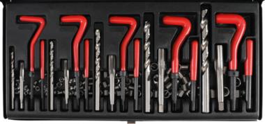Juego 130 piezas para reparar roscas insertadas M5 - M12