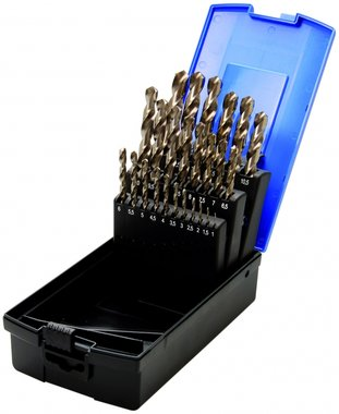 Juego 26 piezas de brocas HSS 1-13 mm