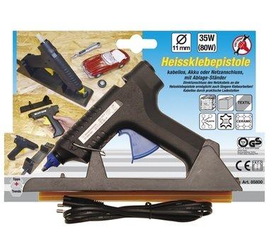 Pistola termoencoladora sin cables, 35W