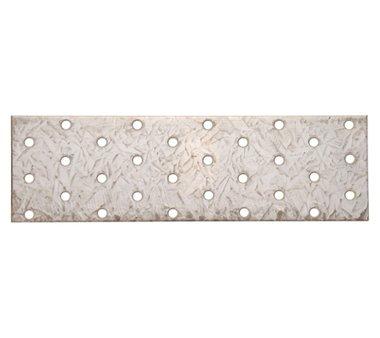 Placa de acero con agujeros, 200 x 60 mm