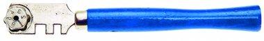 Cortador de cristal, 130 mm, para grosores de 3-4 mm