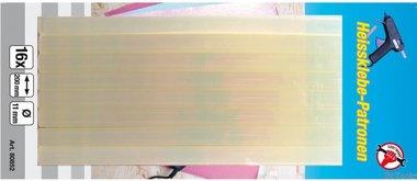 Barras de cola, 16 piezas, 11x200 mm