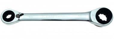 4-in1 Ratchet sleutel, 10x13 - 17x19 mm