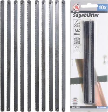 Hojas de sierra 150 mm 10 piezas