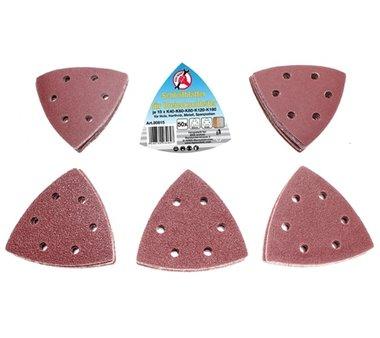 Lijadoras de 50 piezas para lijadoras triangulares