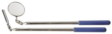 Pinza magnética / espejo de inspección, extendible hasta 412 mm