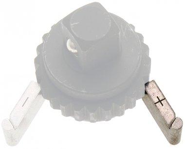 Placa de bloqueo de repuesto + para llave dinamométrica BGS 968