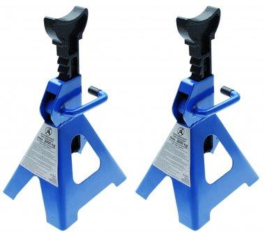 1 par de soportes de gato, 3t / par, 285-420 mm