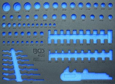 3/3 Bandeja para carro para vasos y llaves combinadas