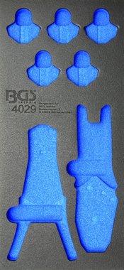 03/01 Tool Tray voor gereedschapswagen, leeg: 12-delige Crimping & afstriptang Set