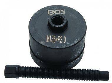 Extractor de cubo de rueda, BPW 12t, M135 x 2,0
