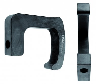 Gancho de traccion universal, tipo de servicio pesado, para martillo deslizante BGS 7772, 7772-2, 7776