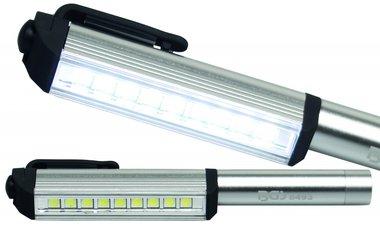 Pluma de aluminio 9 LED