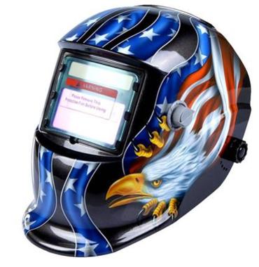 máscara de soldadura automática