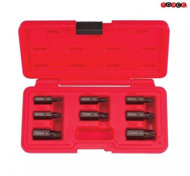 Conjunto de extractores de tornillos