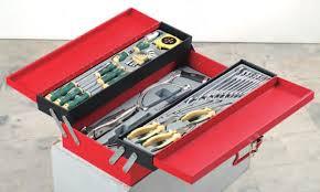 Caja de herramientas con herramientas 48 pcs