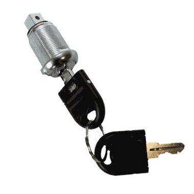 Cerradura con 2 llaves