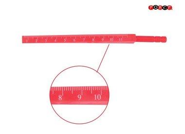 Agujeros de calibre diametro del cuerpo