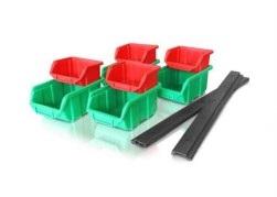 Sistema de almacenamiento de soporte de pared + bandejas