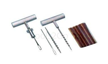 Conjunto de reparacion de neumaticos de 4 piezas
