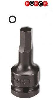 Vasos de impacto llave Allen de 3/8 (una sola pieza) 6mm