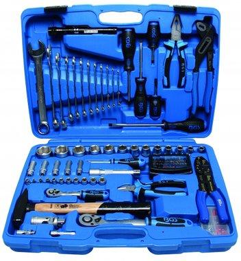 Maletin de herramientas y llaves de vaso 117 piezas
