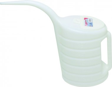 El agua de refrigeracion Can, de 5 litros con boca de llenado de largo
