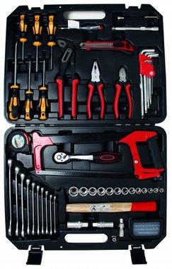 Maletín de herramientas de 84 piezas