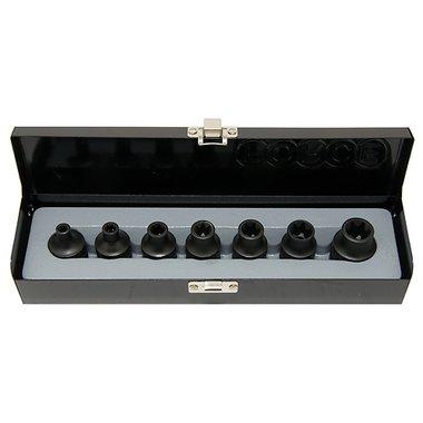 Conjunto de 7 impacto sockets Torx 1/2