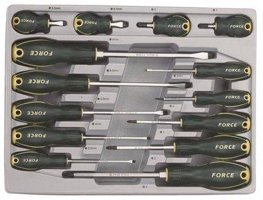 Módulo 14 destornillador para tornillo de ranura y Pozidriv