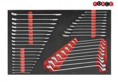 Módulo de espuma de 36 llaves de combinación y llaves