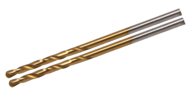 Taladro de torsión, HSS-G, recubierto de titanio, 2,0 mm (2 piezas)