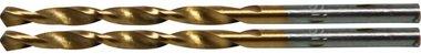 Taladro de torsión, HSS-G, recubierto de titanio, 3,0 mm (2 piezas)