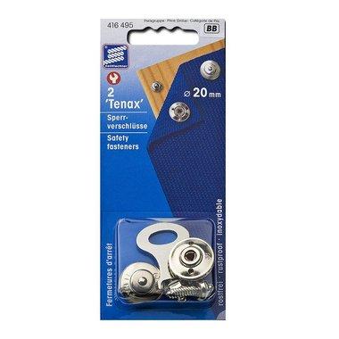 Boton de Tenax, 20mm, 2 piezas en envase