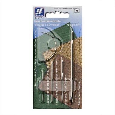 Kit de reparacion de aguja, 4 piezas en envase