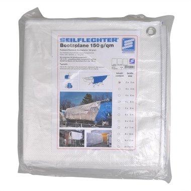 Cubierta de proteccion 2x3m, blanco