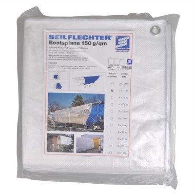 Cubierta de proteccion 3x4m, blanco